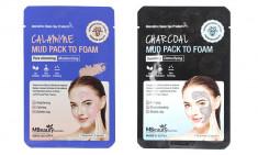 маска-пенка для лица mbeauty mud pack to foam