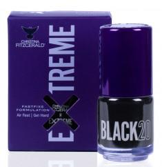 CHRISTINA FITZGERALD Лак для ногтей 20 / BLACK EXTREME 15 мл