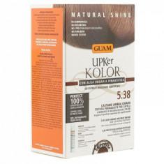 Краска для волос GUAM UPKer KOLOR Светло-каштановый янтарный 5.38 215мл