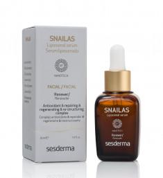SESDERMA Сыворотка липосомальная восстанавливающая для лица / SNAILAS Liposomal serum facial renewer 30 мл