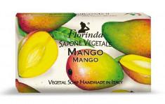 FLORINDA Мыло растительное, манго / Mango 100 г
