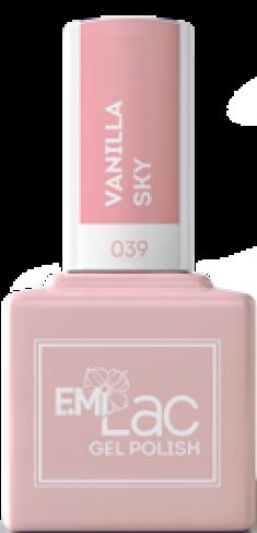E.MI 039 SE гель-лак для ногтей, Ванильное небо / E.MiLac Shades of Elegance 9 мл