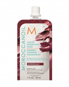 MOROCCANOIL Маска тонирующая для волос, бордо / COLOR DEPOSITING MASK BORDEAUX 30 мл