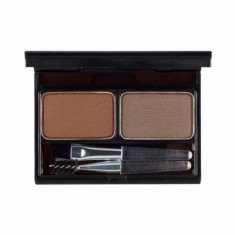 Палетка для бровей It's Skin It's Top Professional Eyebrow Cake тон 02 коричневый+серо-коричневый 2г+2г It'S SKIN