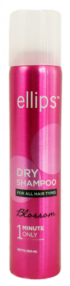 ELLIPS Шампунь сухой для придания свежести и объема волосам / Dry Shampoo Blossom 200 мл