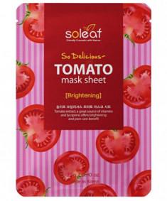 Маска тканева укрепляющая с томатом Soleaf So Delicious Tomato Mask Sheet 25 мл