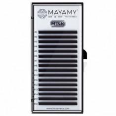 Ресницы MAYAMY MINK 16 линий С 0,07 12 мм
