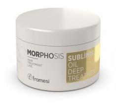 FRAMESI Маска интенсивного действия на основе арганового масла для волос / MORPHOSIS SUBLIMIS OIL DEEP TREATMENT 200 мл