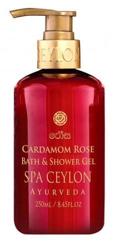SPA CEYLON Гель для ванны и душа Роза и кардамон 300 мл