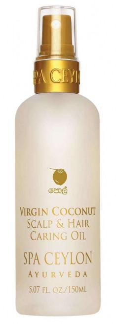 SPA CEYLON Масло для ухода за кожей головы и волосами Чистый кокос 150 мл
