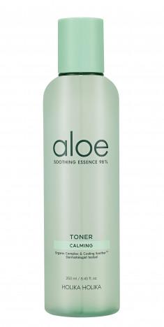 HOLIKA HOLIKA Тонер увлажняющий для лица / Aloe Soothing Essence 98% Toner 250 мл