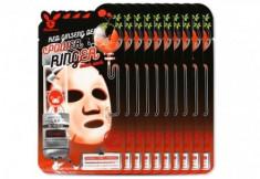 НАБОР Тканевых масок с Красным Женьшенем Elizavecca RED gInseng DEEP PQWER Ringer mask pack 23мл*10шт