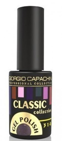 GIORGIO CAPACHINI 314 гель-лак трехфазный для ногтей / Classic 7 мл