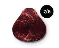 OLLIN PROFESSIONAL 7/6 краска для волос, русый красный / OLLIN COLOR 100 мл