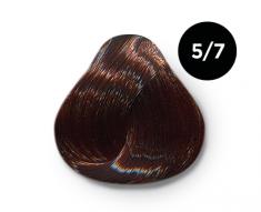 OLLIN PROFESSIONAL 5/7 краска для волос, светлый шатен коричневый / OLLIN COLOR 100 мл
