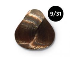 OLLIN PROFESSIONAL 9/31 краска для волос, блондин золотисто-пепельный / OLLIN COLOR 100 мл