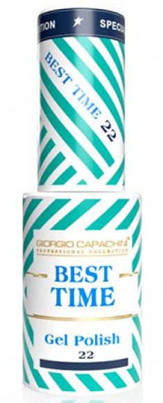 GIORGIO CAPACHINI 22 гель-лак трехфазный для ногтей / BEST TIME 8 мл