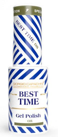 GIORGIO CAPACHINI 08 гель-лак трехфазный для ногтей / BEST TIME 8 мл