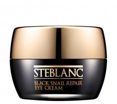 STEBLANC Крем с муцином черной улитки для ухода за кожей вокруг глаз / Black Smail Repair Eye Cream 35 мл