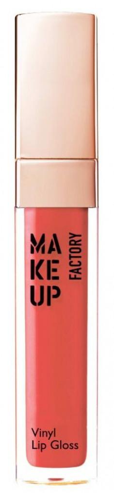 MAKE UP FACTORY Блеск для губ, 15 пристрастие к красному / Vinyl Lip Gloss
