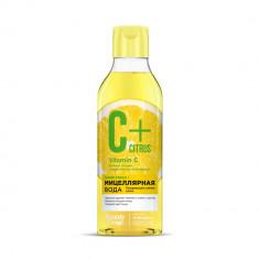 Фитокосметик Beauty Visage Мицеллярная вода C+Citrus для сияния кожи с омолаживающим комплексом AntiagEnz 245мл ФИТОКОСМЕТИК