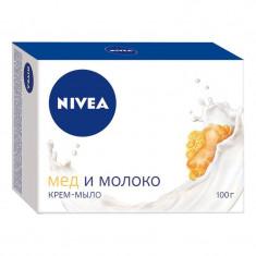 Nivea Крем-мыло Мед и молоко 100г