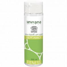 Levrana Гель-скраб для душа Fitness Бергамот 200 мл