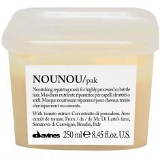 Давинес (Davines) NOUNOU hair mask Интенсивная восстанавливающая маска для глубокого питания волос 250мл