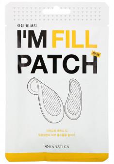 KARATICA Патчи с микроиглами с гиалуроновой кислотой и пептидами / I'm Fill Patch 4 пары