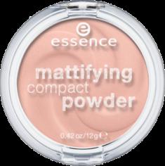 Пудра компактная Mattifying Compact Powder Еssence 10 light beige Essence