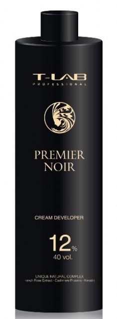 T-LAB PROFESSIONAL Крем-проявитель 12% 40 Vol / Premier Noir Cream developer 1000 мл