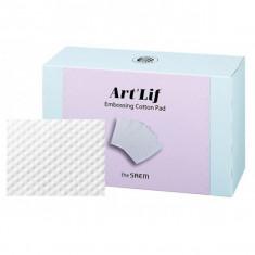 ватные диски с тиснением the saem art'lif embossing cotton pad