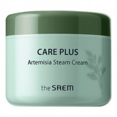успокаивающий крем для лица the saem care plus artemisia steam cream