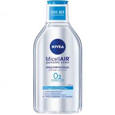Nivea Мицеллярная вода Дыхание кожи для нормальной и комбинированной кожи 400мл